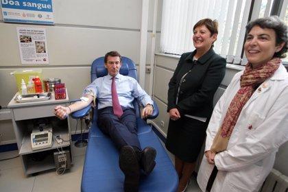 Feijóo invita a donar sangre