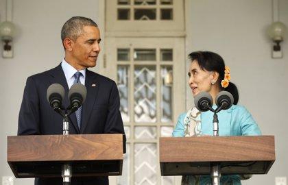 Obama se pronuncia contra la ley que impide a Suu Kyi aspirar a la Presidencia de Birmania