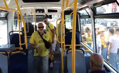 Guaguas Municipales reforzará las líneas 91 y 'Fútbol' para el partido de este sábado entre Las Palmas y el Mirandés