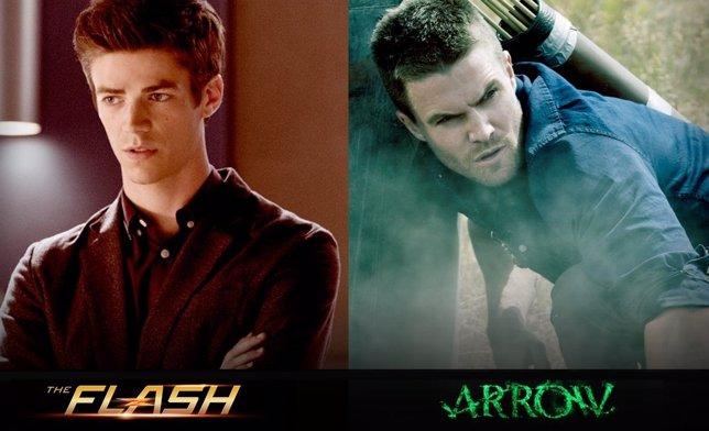Así será el crossover entre Arrow y The Flash