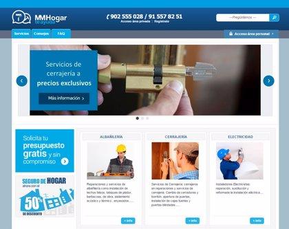 Economía.- MM Hogar lanza una plataforma 'online' de reparaciones que no están incluidas en las pólizas