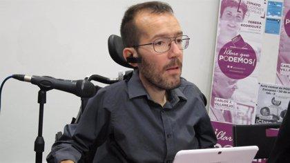 Echenique vota a Iglesias como secretario general de Podemos