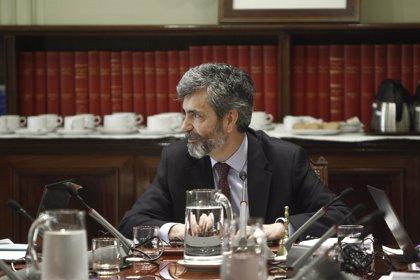 """Lesmes avisa que """"lo más relevante no es el número de jueces, sino su calidad"""" y nuestra Justicia es de las más baratas"""
