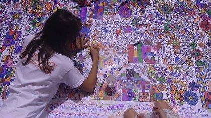 La Vaguada, Pintafun y Médicos del Mundo celebran el evento solidario 'Cuanto más pintas, más ayudas'