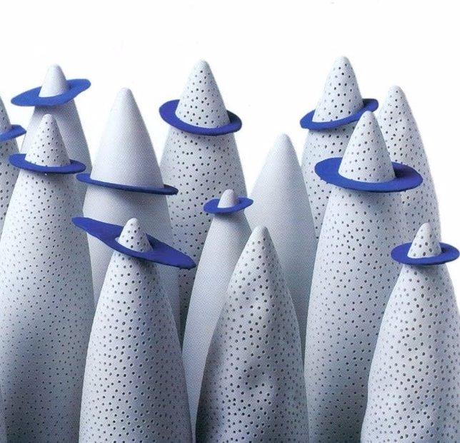 Una de las obras de la ceramista María Bofill