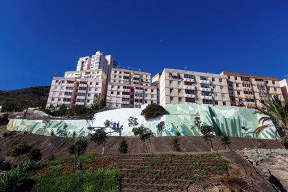 Un gran mural  dará la bienvenida a Las Palmas de Gran Canaria