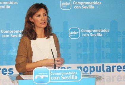PP critica el 'no' de PSOE e UI a su reforma fiscal, que dejaría 108 millones y 12.000 empleos a los sevillanos