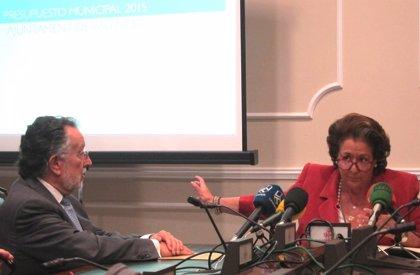El presupuesto municipal de Valencia para 2015 asciende a 738,1 millones