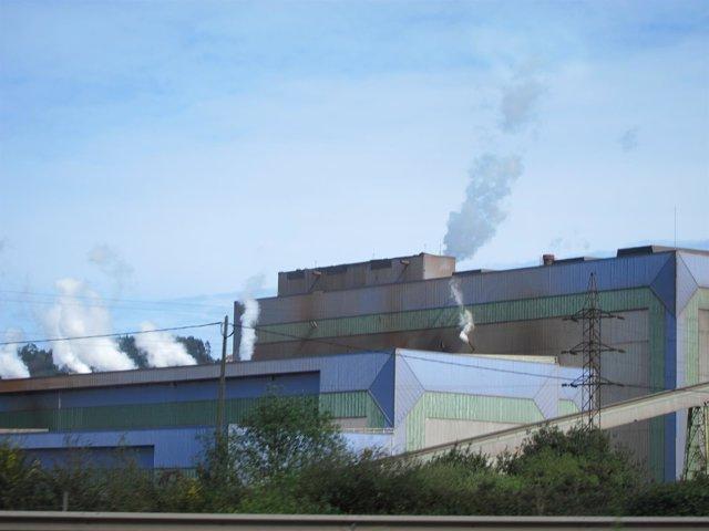 Intalaciones de ArcelorMittal.