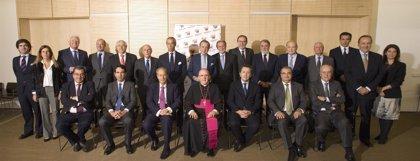 El nuevo arzobispo de Madrid asume la presidencia de honor del patronato de Fundación Madrid Vivo