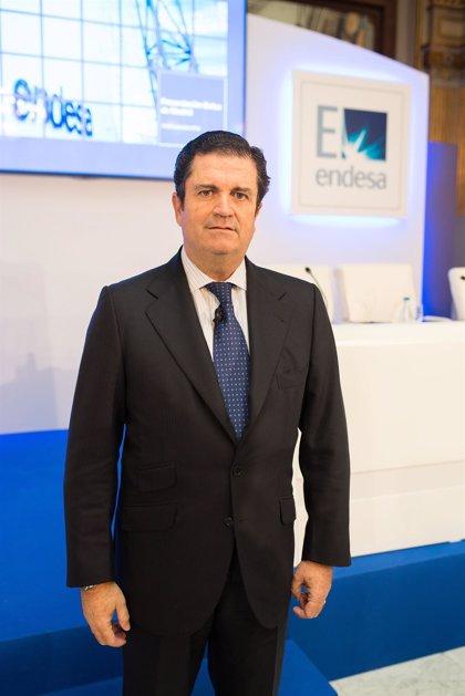 Economía/Bolsa.- Borja Prado presenta la OPV de Endesa a un centenar de inversores en la Bolsa de Madrid