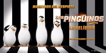 ¡Juega y gana con Los pingüinos de Madagascar!