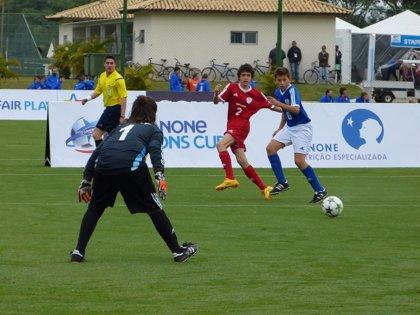 España se estrena con empate ante Italia en la Danone Nations Cup