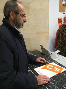 Francisco Gambarte, coordinador de Ciudadanos de Asturias