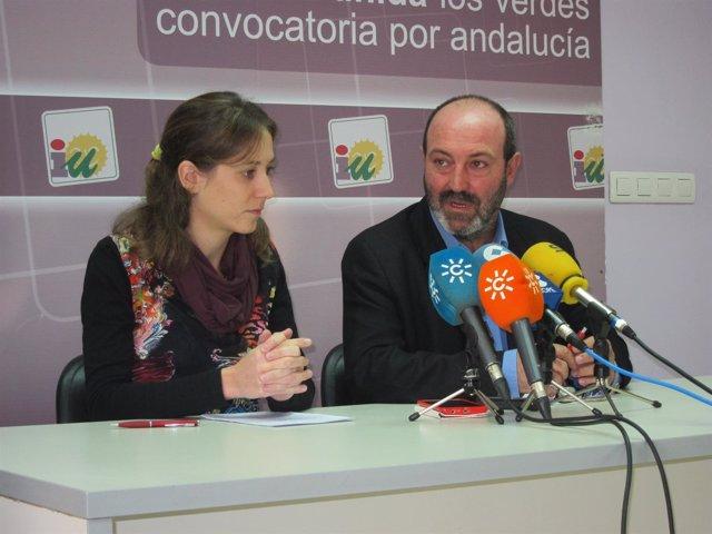 El coordinador provincial de IULV-CA en Huelva, Pedro Jiménez.