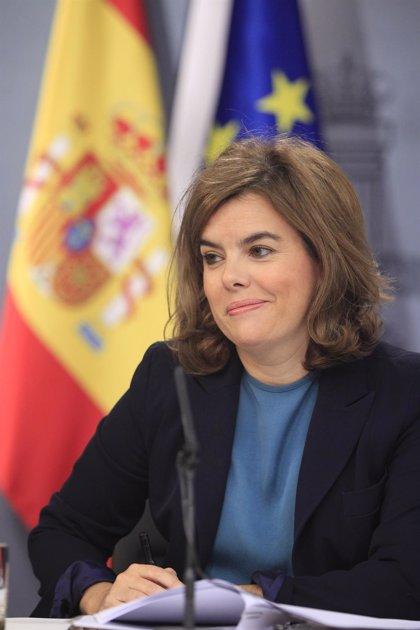 """Sáenz de Santamaría sobre Chaves y Griñán: """"Cada uno tendrá que explicar cómo aplica sus propias reglas a sus casos"""""""