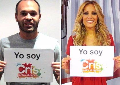 Más de 100 famosos participan en la campaña #YoSoyCris para la investigación contra cáncer