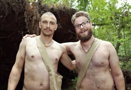 VÍDEO: James Franco y Seth Rogen, desnudos y ¿asustados? en Naked and Afraid