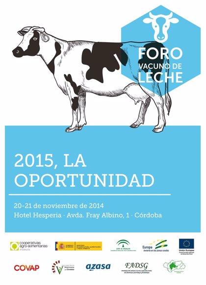 El futuro del sector lácteo se debatirá en el Foro de Vacuno de Leche de Cooperativas Agro-alimentarias de Andalucía
