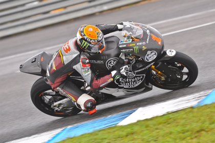 El suizo Krummenacher lidera los últimos entrenamientos de Moto2 y Moto3 en Jerez