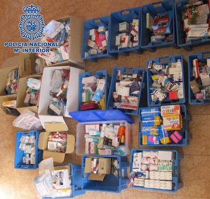 Detenidas 20 personas por el robo de productos sanitarios valorados en 1 millón de euros