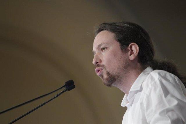 El líder de Podemos Pablo Iglesias
