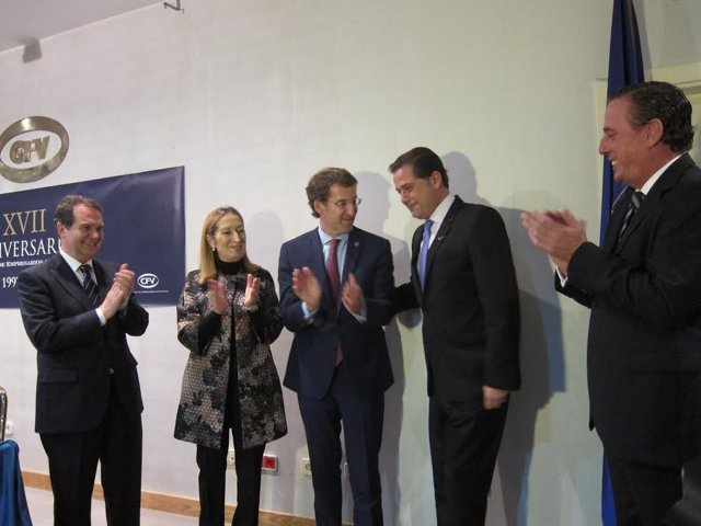 Ignacio Rivera recibe la Medalla de Oro de los empresarios gallegos
