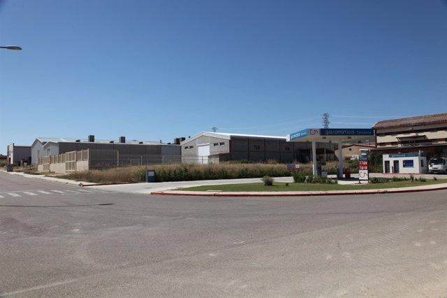 Naves en el Polígono industrial de SEPES en Tarazona
