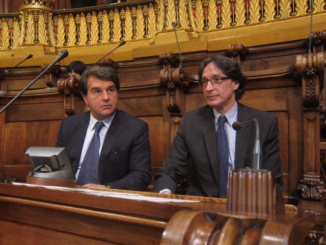 J.Laporta y J.Portabella