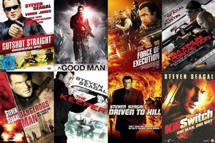 Antología de carteles de Steven Seagal: No sin mi arma