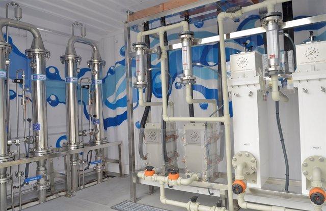Planta electroquímico y filtración