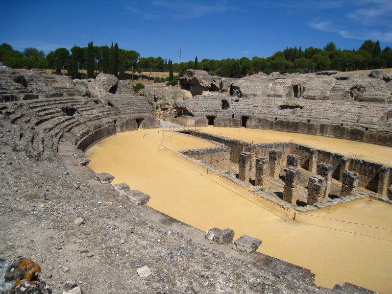 Anfiteatro romano en Sevilla
