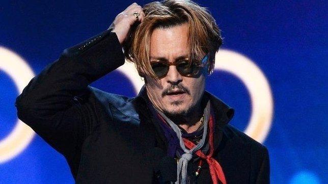 Johnny Depp en los Hollywood awards