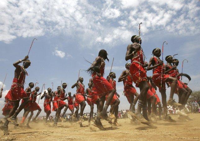 Masai, Tanzania, Kenia, tribu, indígena, Africa
