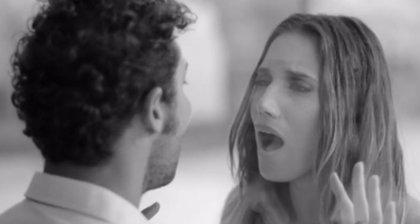 India Martínez y David Bisbal, juntos en el vídeo de 'Olvidé Respirar'