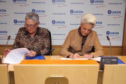 Fundación Quirón y Fundación Ayúdate firman un convenio para la atención del paciente ostomizado y de sus familiares