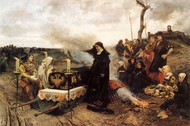 El cortejo fúnebre de Juana la Loca, de Padilla.