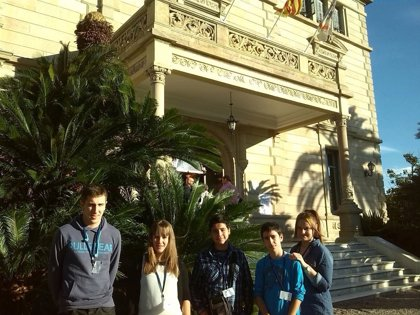 Cinco jóvenes representan a Navarra en una conferencia nacional sobre el cuidado del medio ambiente