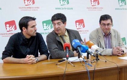 """Valderas cree que """"el futuro se llama Alberto Garzón"""" y que IU es la fuerza """"más solvente hoy día"""" de la izquierda"""