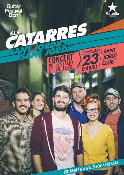 Els Catarres presentarán su nuevo disco en la Diada de Sant Jordi