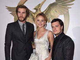 Jennifer Lawrence presenta Los juegos del hambre: Sinsajo en Los Ángeles