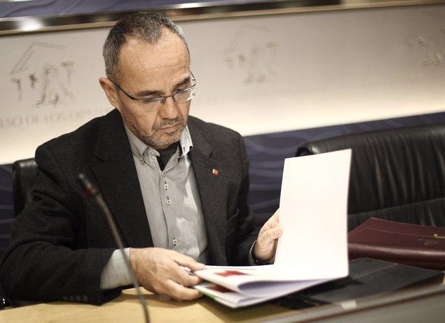Joan Coscubiela, diputado de Iniciativa per Catalunya (ICV)