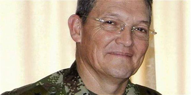 El general Rubén Darío Alzate