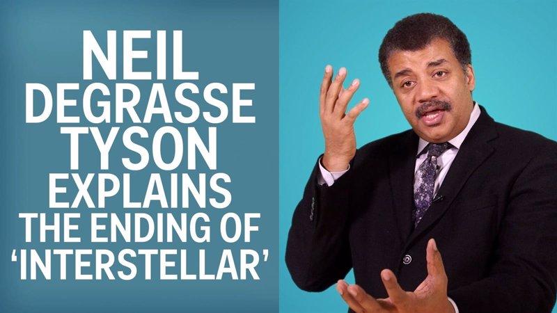Neil deGrasse Tyson explica el final de Interstellar en este vídeo