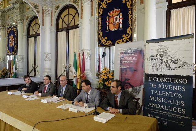 Presentación actividades Orquesta Filarmónica de Málaga
