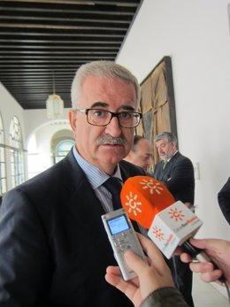 Manuel Jiménez Barrios, hoy ante los medios