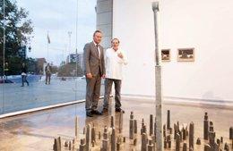 Inauguración de al sala permanente de Miquel Navarroo en el IVAM