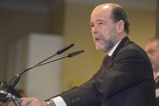 El secretario de Estado de Defensa, Pedro Argüelles