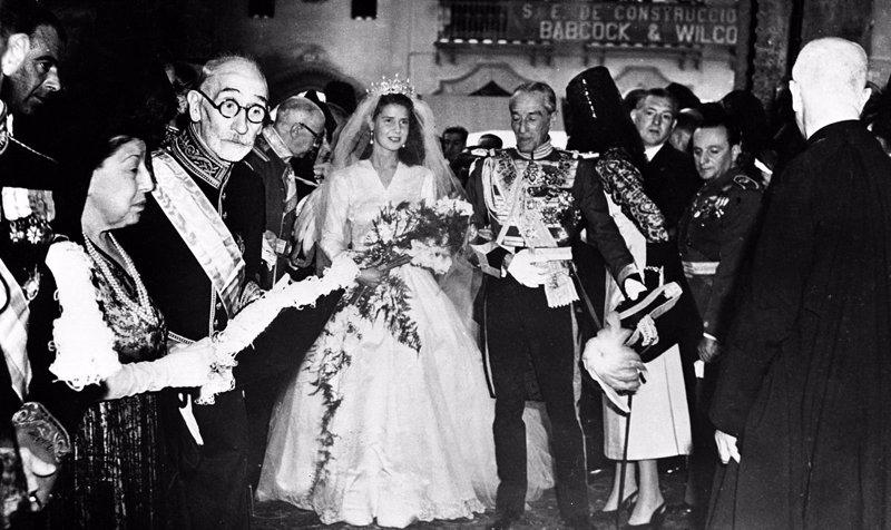 Primera boda de Cayetana