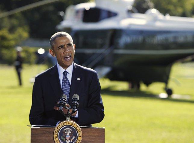 Barack Obama en la Casa Blanca
